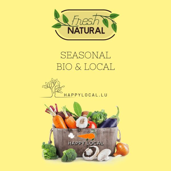 buy online Fresh vegetables in Luxembourg from local farms
