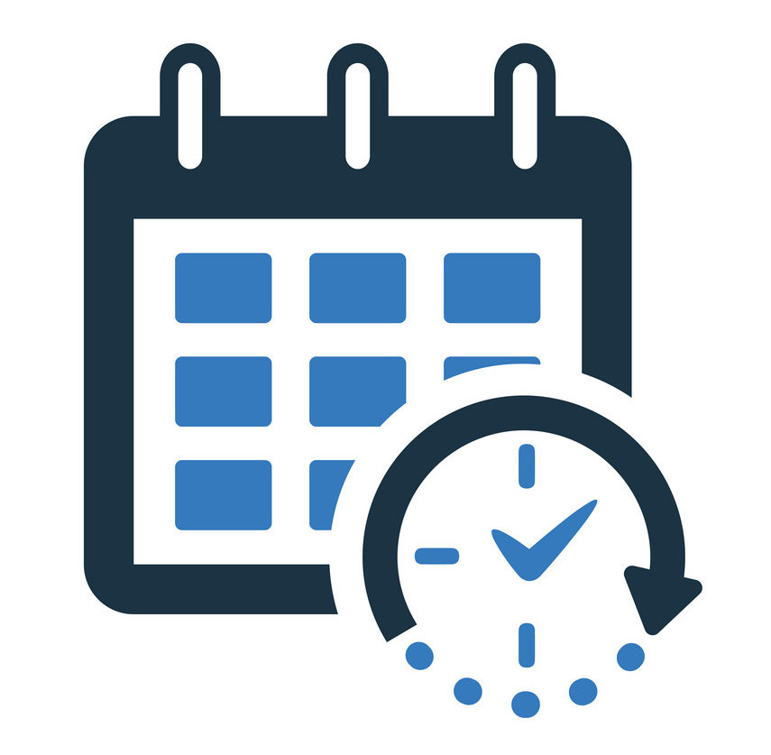 Timer, event, delivery date, schedule icon