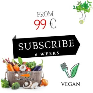 Organic vegetables - vegan basket