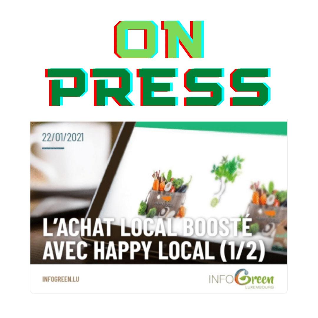 Happy local on press infogreen.lu