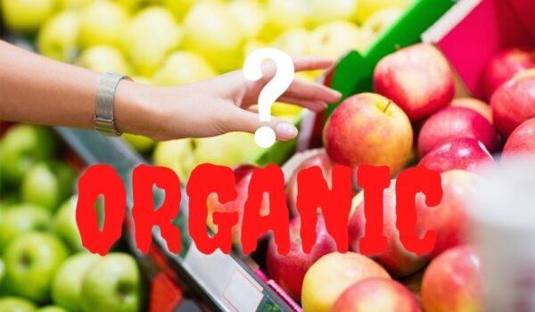 Food fraud, organic