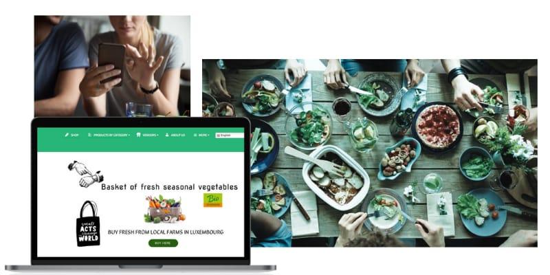 Buy Fresh Vegetables Online in Luxembourg